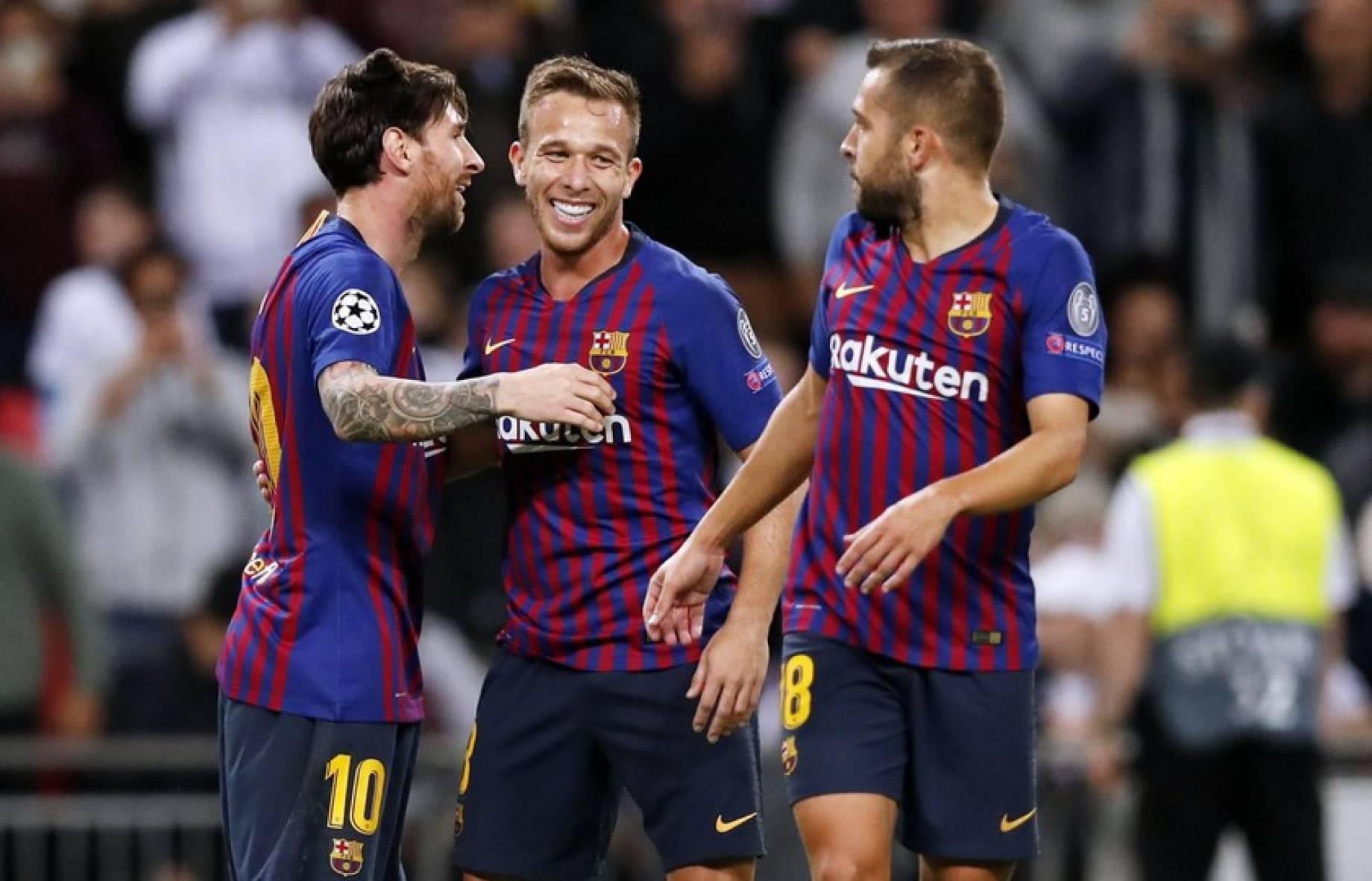 Seconda Maglia FC Barcelona Arthur