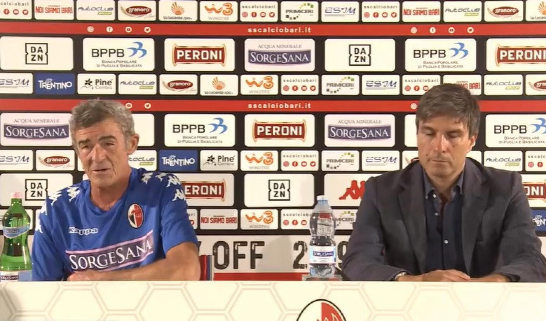 Di Marzio: Bari forza 4: in arrivo Candellone, Andreoni, Celiento e De Risio Bari_Auteri_Romairone_GDM