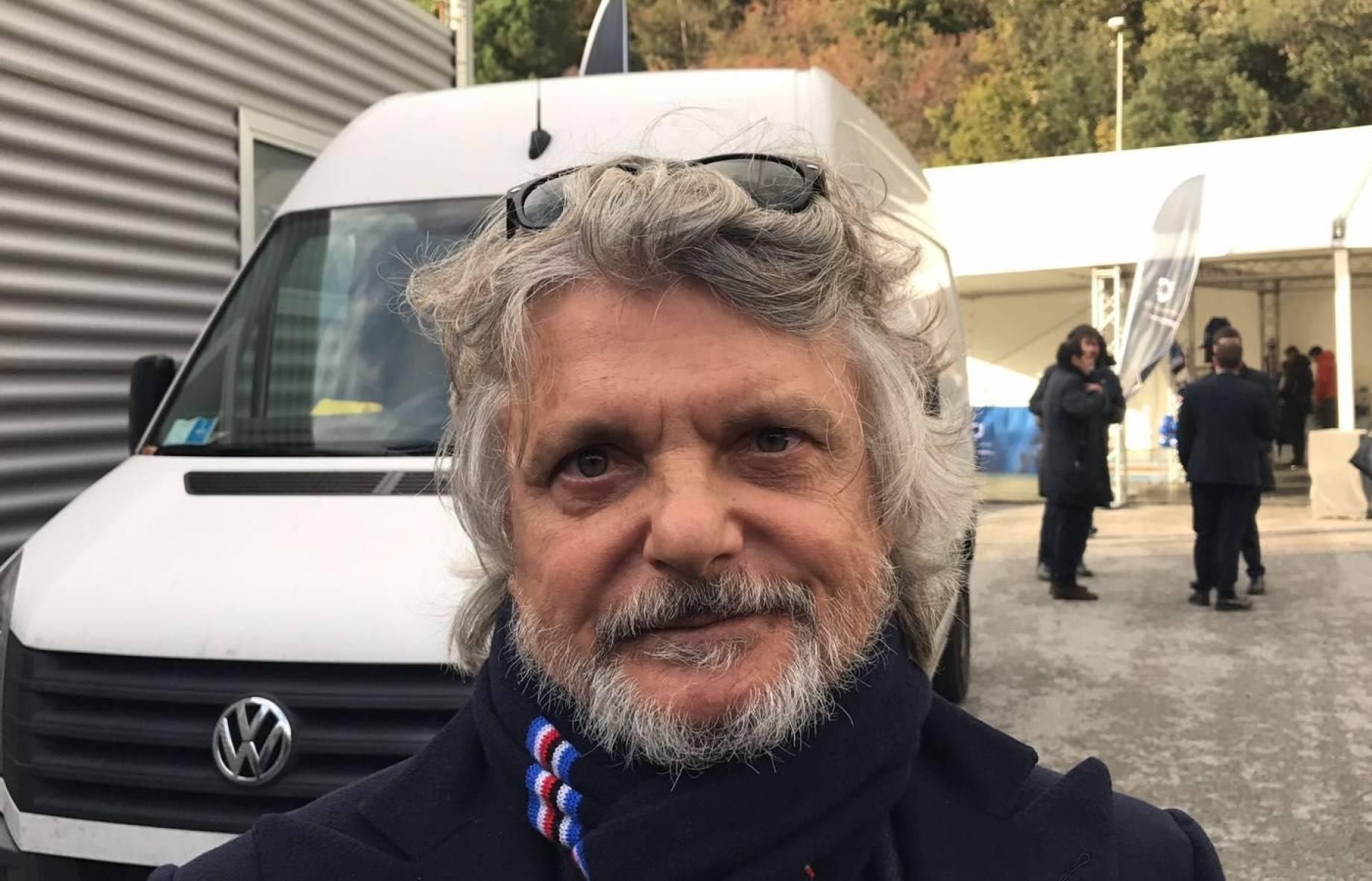 Sampdoria, Ferrero si scusa dopo le proteste dei tifosi