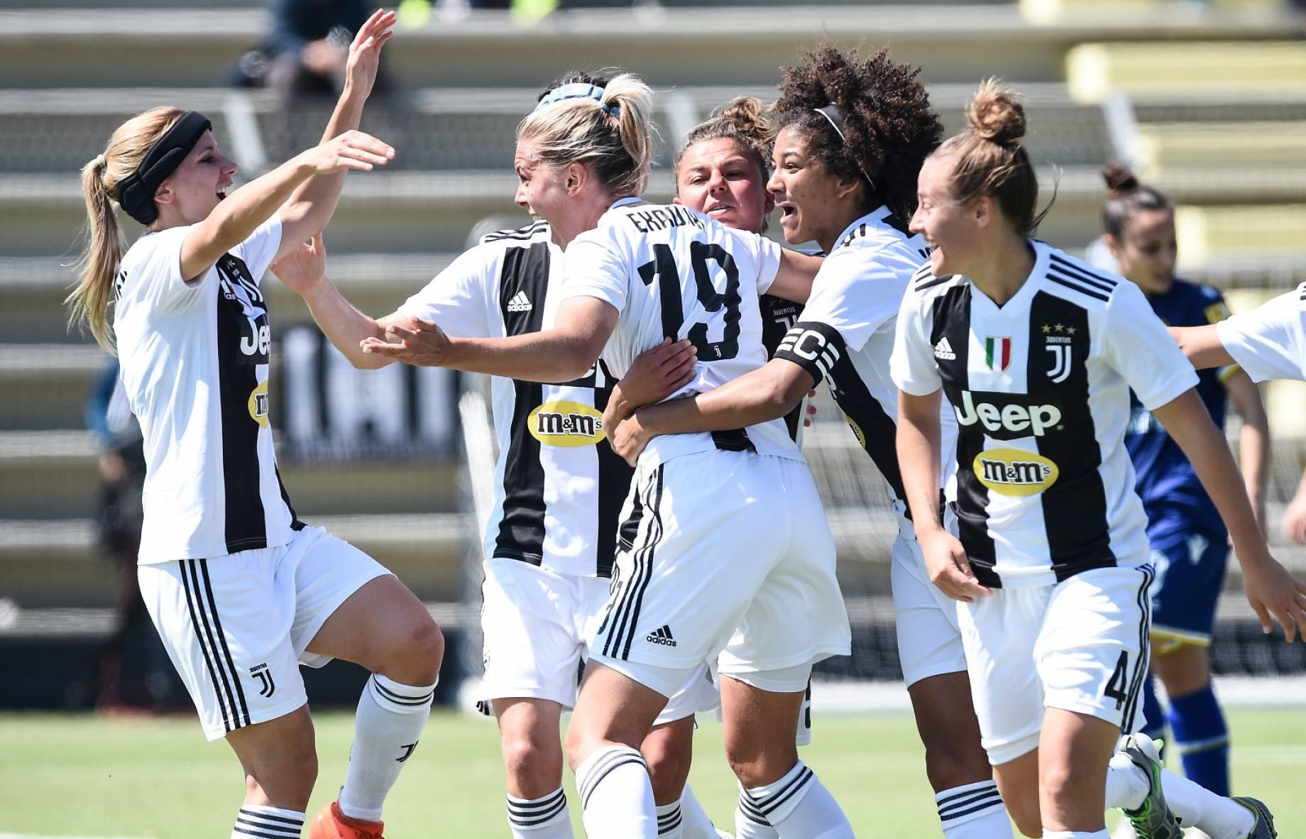 Prima Le Donne La Juventus Women E Campione D Italia
