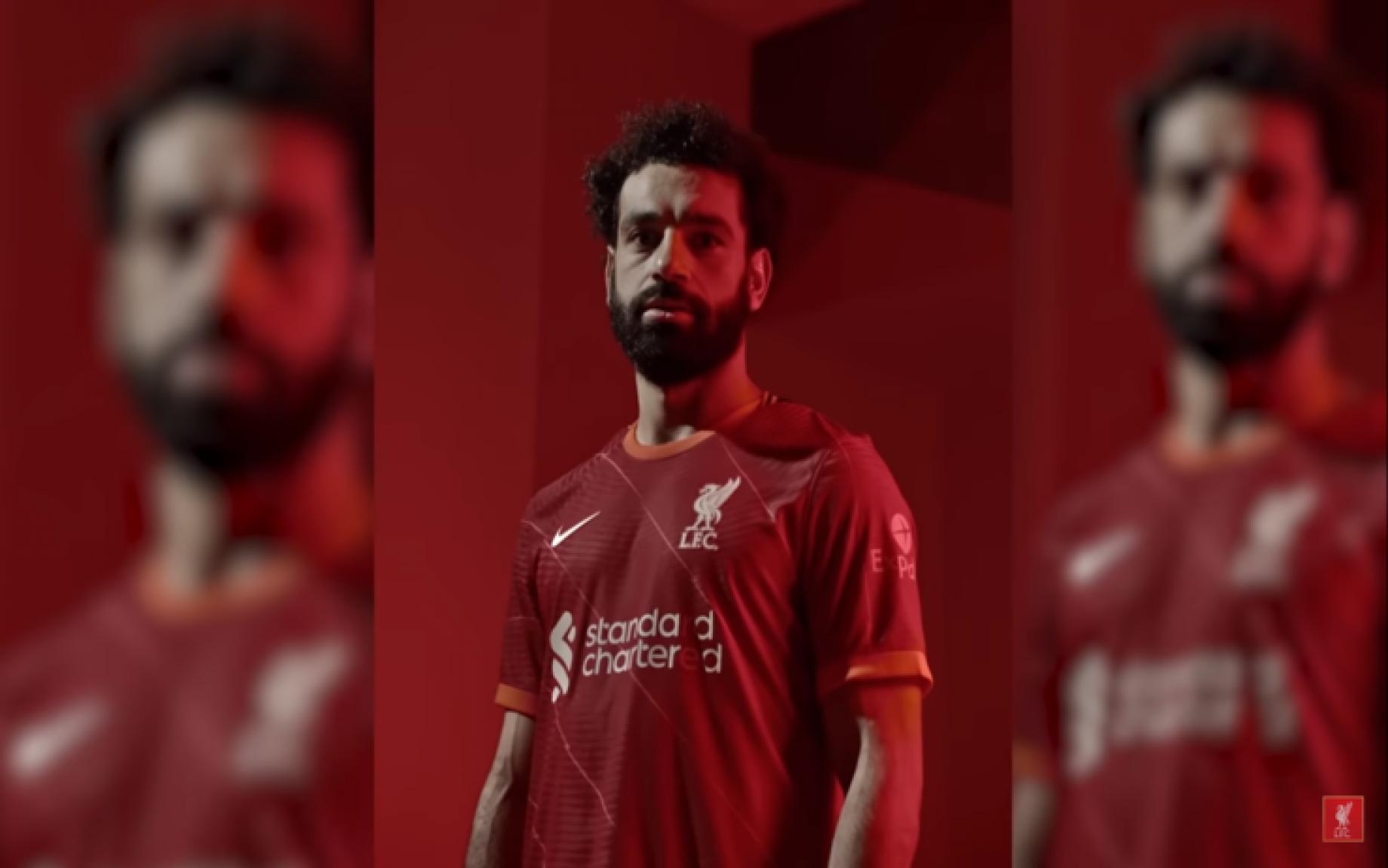 Liverpool, presentata la nuova maglia home 2021/2022
