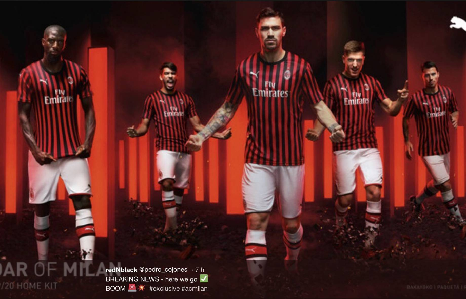 dd7b3654d Serie A: le maglie da gioco 2019/2020 | FOTO