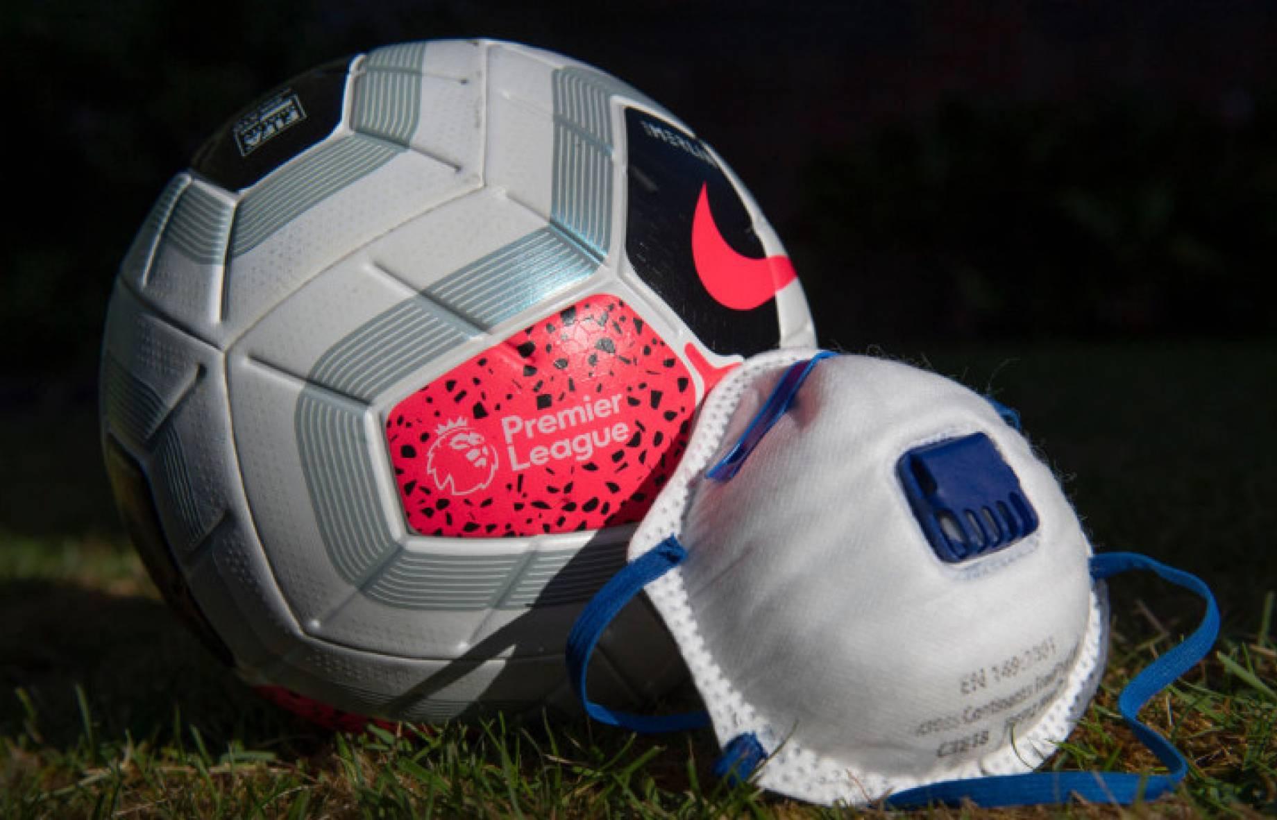 Masque de coronavirus de football de Premier League GETTY.jpg