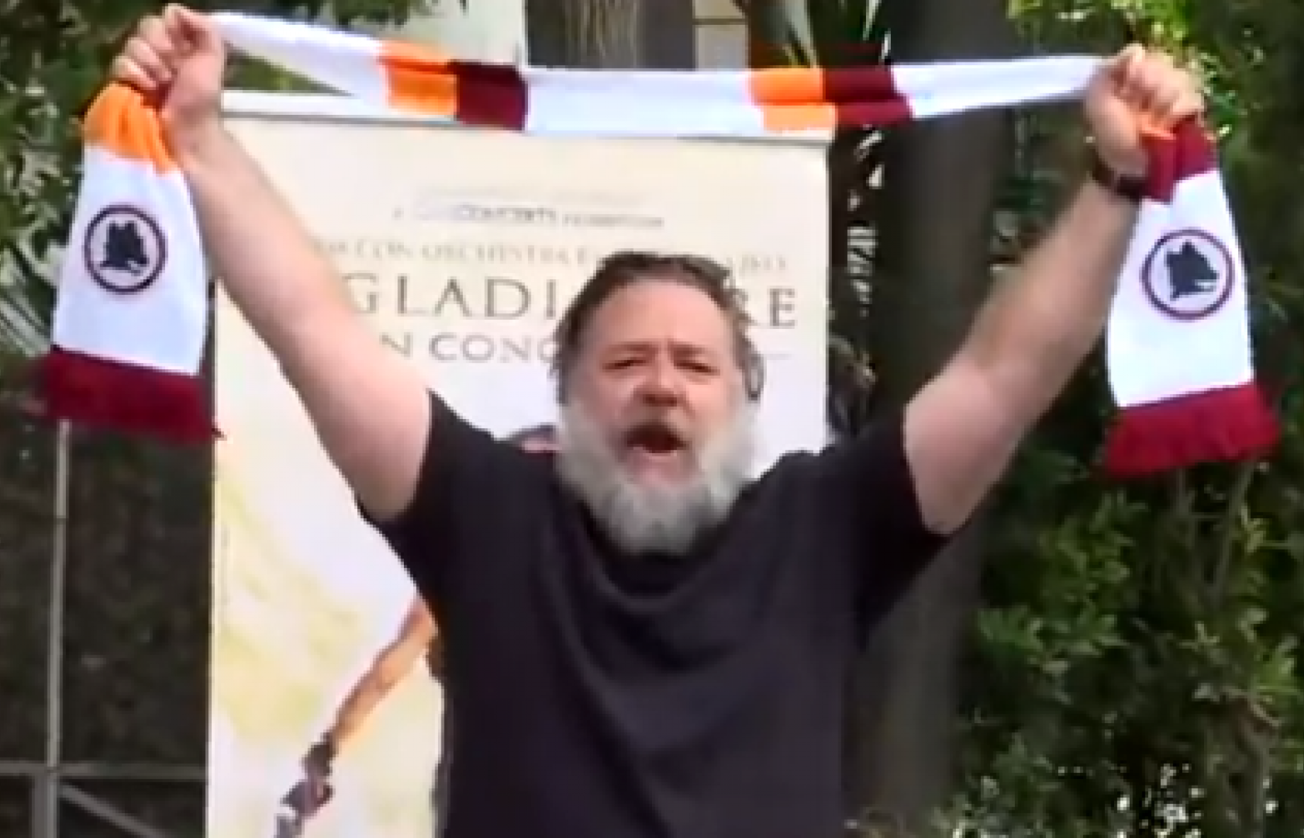 Il Gladiatore in concerto, arriva Russell Crowe