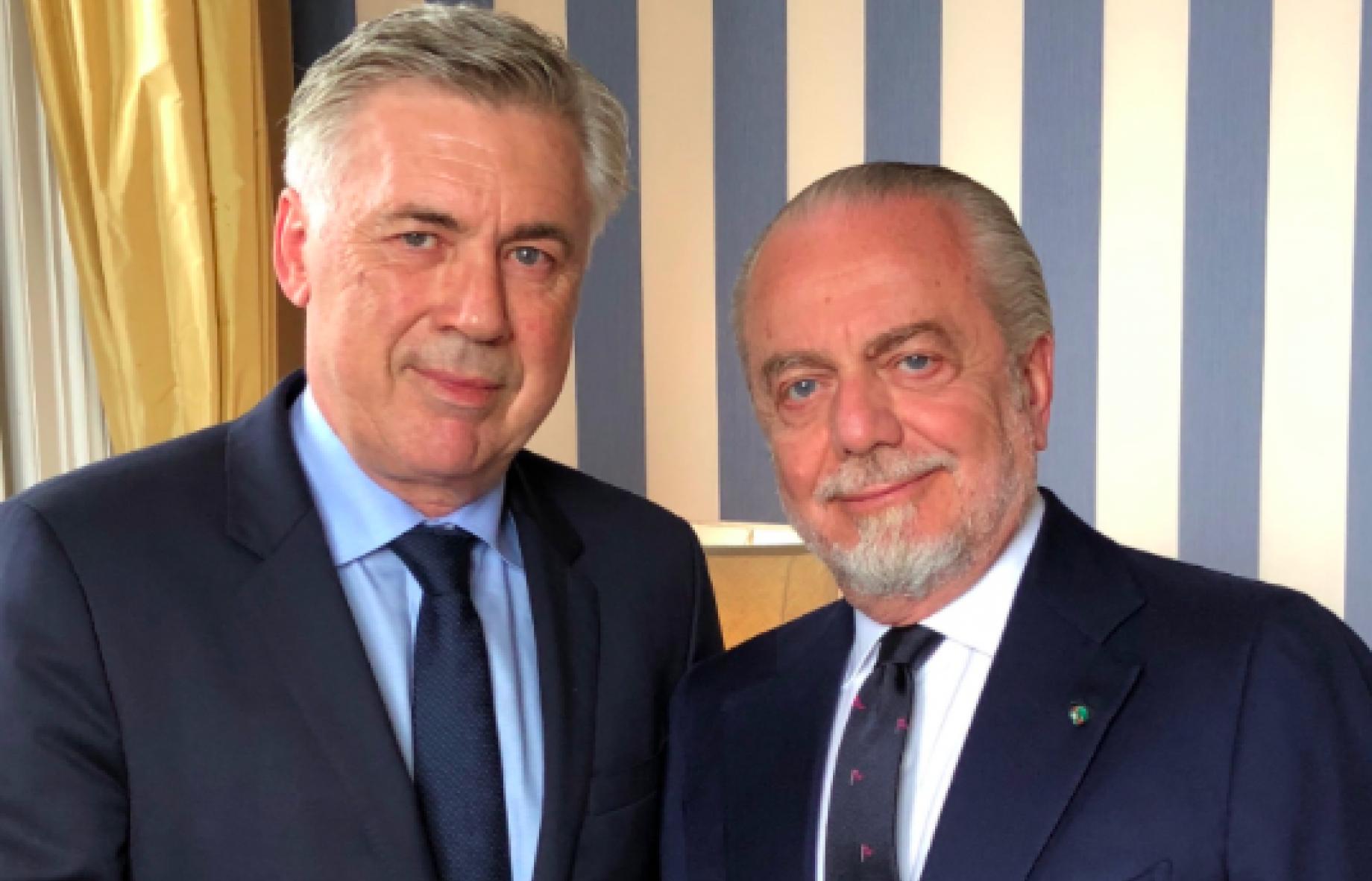 Napoli, Ancelotti non si nasconde: Obiettivo Scudetto