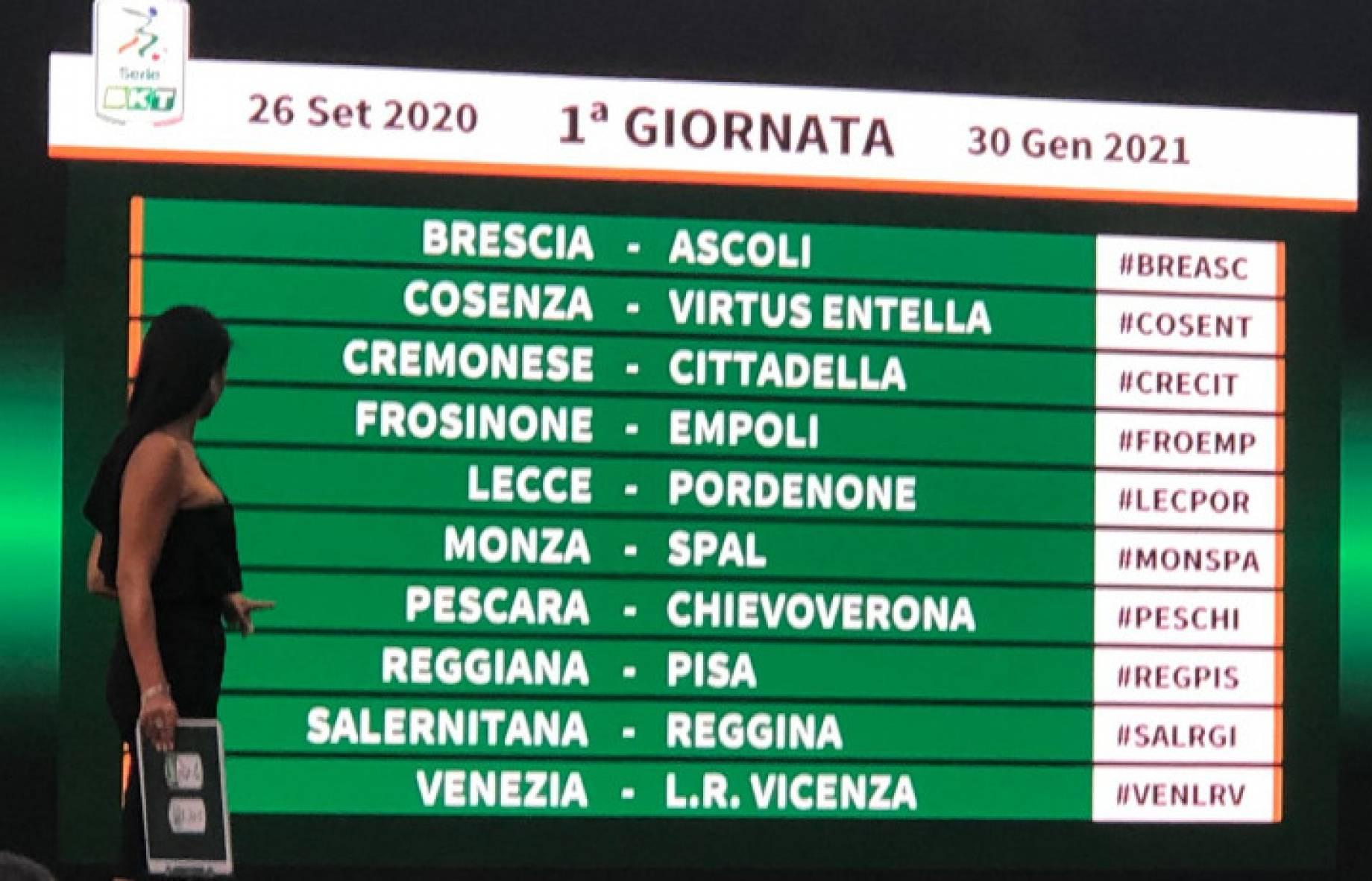 Serie B, il calendario della stagione 2020/2021