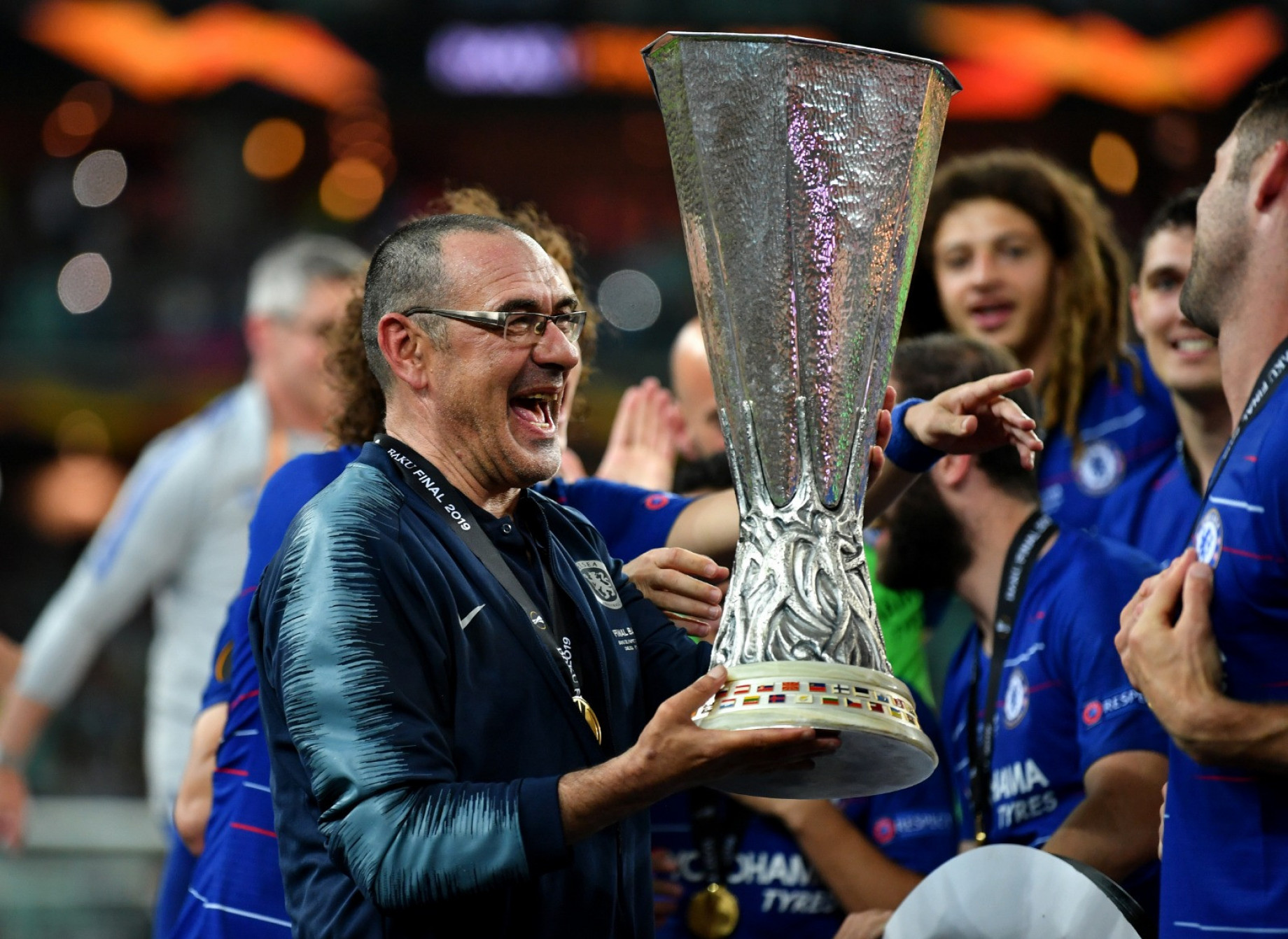 sarri europa league GETTY