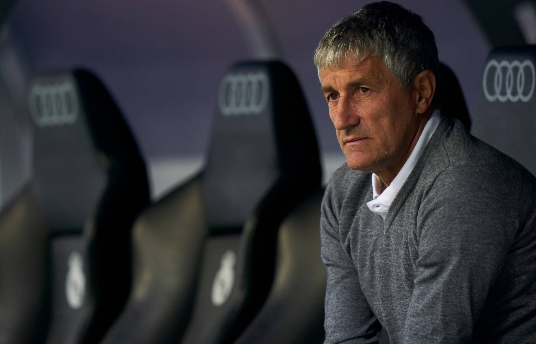 quique setien GETTY