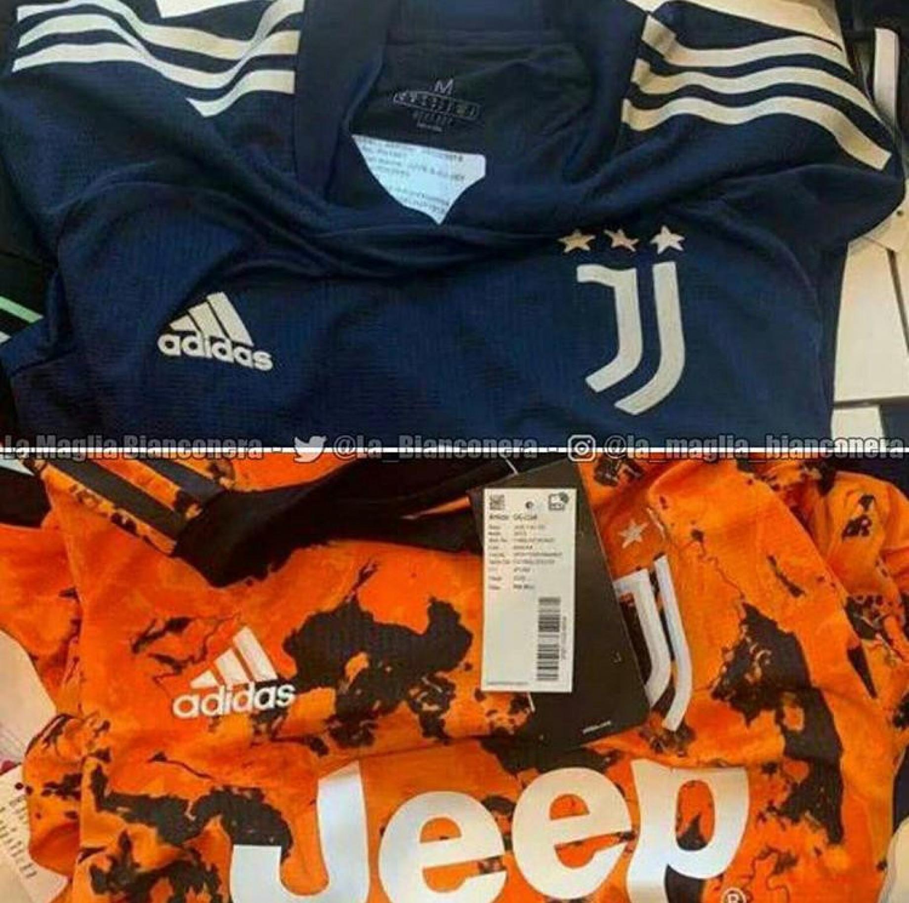 Seconda e terza maglia Juve 1